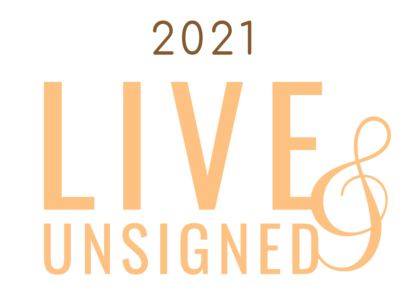 Live & Unsigned Logo with Year